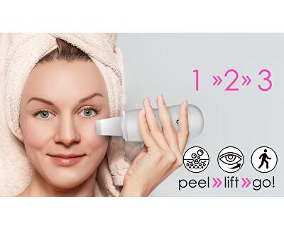 Ultrazvuková špachtle bílá Peel&Lift BR-1300W