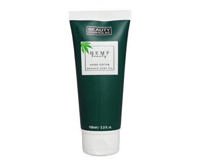Cremă pentru mâini cu cânepă Hemp Beauty (Hand Cream Organic Hemp Oil) 100 ml