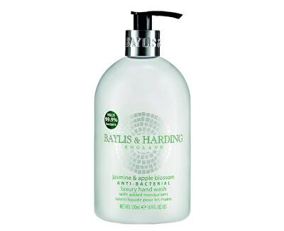 Antibakteriální tekuté mýdlo na ruce Jasmín a jablečný květ (Anti-Bacterial Luxury Hand Wash) 500 ml