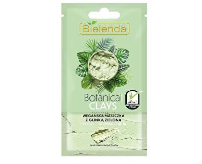 Mască detoxifiantă cu argilă pentru pielea grasă si mixtă Botanical Clays (Vegan Mask) 8 g