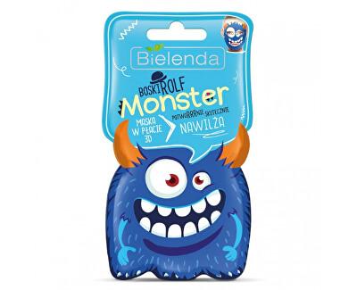 Mască hidratantă 3D Monster(Moisturizing Sheet Mask) 1 buc.