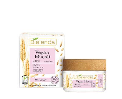 Crema matifiantă pentru față Vegan Muesli 50 ml