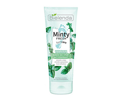 Erfrischende Fußcreme Minty Fresh (Antiperspirant Foot Cream Refreshing And Smoothing) 100 ml
