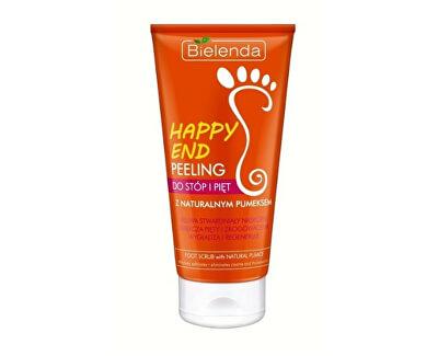 Peeling pentru picioare cu piatră ponce naturală Happy End (Scrub For Feet) 125 ml