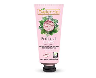 Cremă regenerantă pentru piele cu argilă Botanical Clays (Vegan Cream) 50 ml