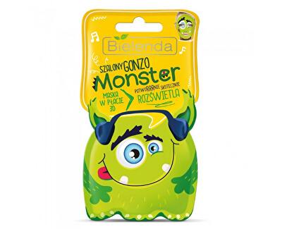 Mască iluminatoare 3D Monster(Illuminating Sheet Mask) 1 buc.