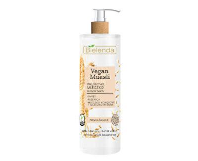 Erweichende Lotion  Vegan Müsli (Moisturizing Face Cleansing Milk) 175 ml