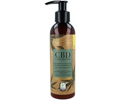 Čisticí emulze pro smíšenou a mastnou pleť CBD Cannabidiol (Face Cleansing Emulsion For Mixed & Greasy Skin) 175 g
