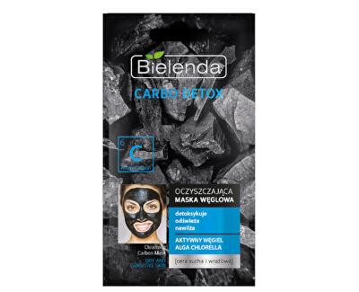 Čisticí maska s aktivním uhlím pro suchou a citlivou pleť Carbo Detox (Cleansing Carbon Mask) 8 g