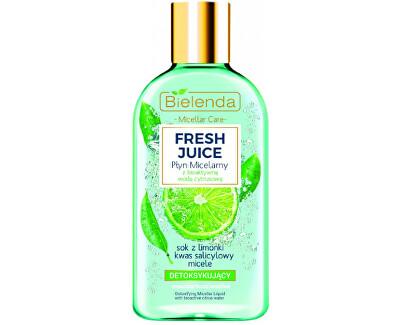 Detoxikační micelární voda pro smíšenou, mastnou a citlivou pleť Fresh Juice (Detoxifying Micellar Water) 100 ml