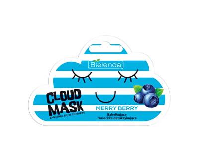 Detoxikační pleťová maska Cloud Mask Merry Berry (Detoxifying Bubble Mask) 6 g