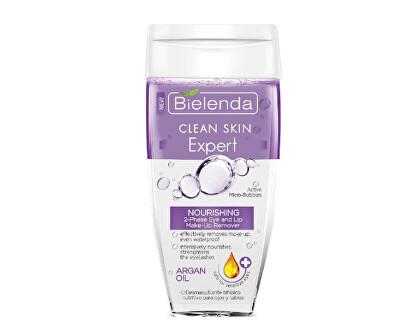 Dvoufázový odličovač očí a rtů Clean Skin Expert (Nourishing 2-Phase Eye And Lip Make-Up Remover) 150 ml