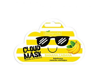 Hydratační pleťová maska Cloud Mask Banana Cabana (Moisturizing Bubble Mask) 6 g