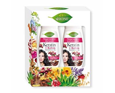 Kosmetická sada BIO Keratin + Kofein