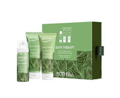 Kosmetická sada tělové péče s vůní zázvoru a máty Bath Therapy Invigorating Blend