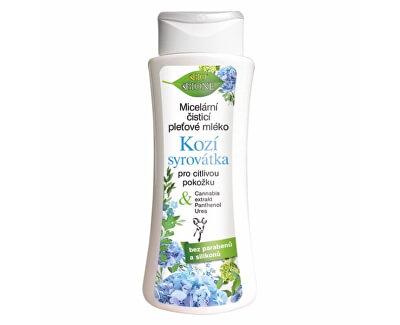 Micelární čisticí pleťové mléko Kozí syrovátka pro citlivou pokožku 255 ml