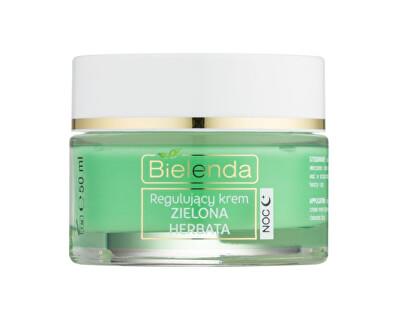 Normalizující noční krém pro smíšenou pleť Green Tea (Regulating Face Cream Night) 50 ml