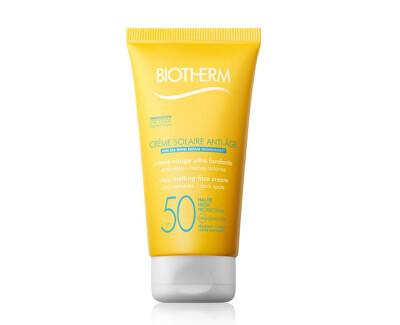 Protivráskový krém na opalování SPF 50 Créme Solaire Anti-Age (Melting Face Cream) 50 ml