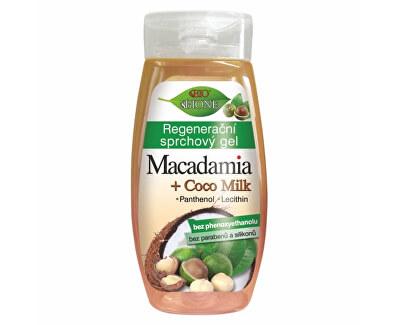 Gel de duș regenerant Macadamia + Coco Milk 260 ml