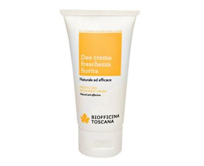 Biofficina Toscana Svěží deodorační krém s vůní květin (Fresh Floral Deodorant Cream) 50 ml