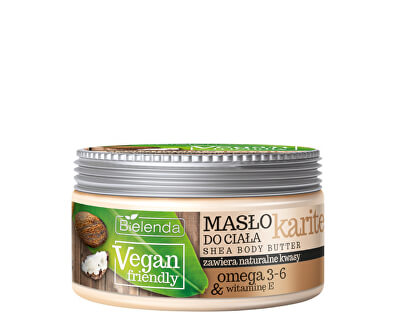 Tělové máslo Vegan Friendly (Shea Body Butter) 250 ml