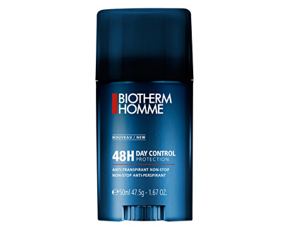 Biotherm Tuhý deodorant antiperspirant pro muže Homme 48H Day Control (Anti-Transpirant Non Stop) 50 ml