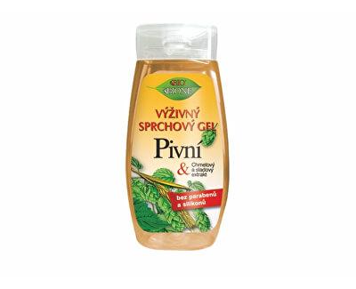Výživný sprchový gel Pivní 260 ml
