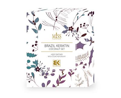 Set cosmetic pentru îngrijirea părului Miss Coconut Set