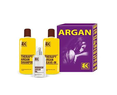 Dárková sada pro suché a poškozené vlasy Argan