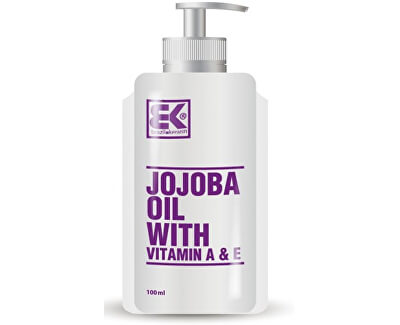 Jojobový olej (Jojoba Oil with Vitamin A & E) 100 ml