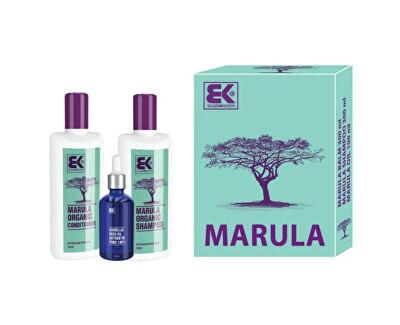 Dárková sada Marula s přírodním exotickým olejem pro krásu a svěžest vlasů i těla