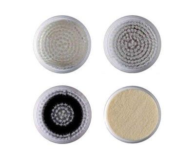 Náhradní sada 4 hlavic pro Sónický vibrační kartáček na čištění a revitalizaci pleti 5097 (Refill Kit 5124) - SLEVA - poškozen ochranný přelep