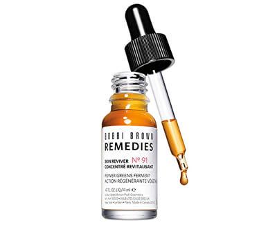 Pleťové sérum pro unavenou pokožku Remedies Skin Reviver (Power Greens Ferment) 14 ml