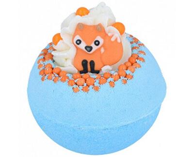 Šumivá koupelová bomba Foxy Loxy (Bath Blaster ø 7,5 cm) 160 g
