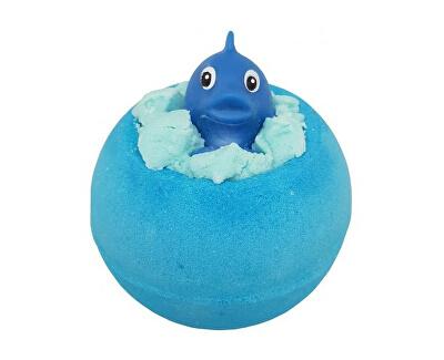 Šumivá koupelová bomba Ryba v oceánu (Bath Blaster ø 7,5 cm) 140 g
