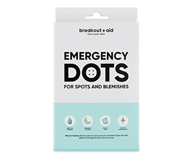 Plasture pentru pielea sensibilă predispusă la acnee Emergency Dots