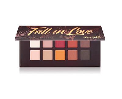 Paletă cu fard de ochi Fall in Love (Eyeshadow Palette) 10 x 0,7 g