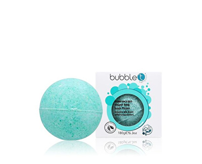 Šumivá koupelová bomba marocká máta (Bath Bomb Fizzer) 180 g