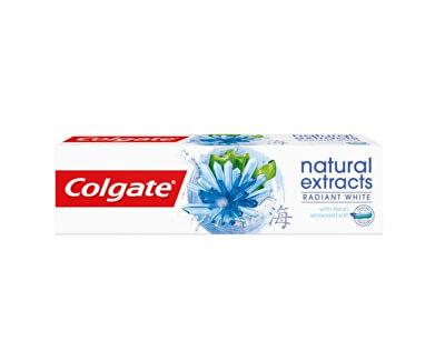 Bělicí zubní pasta Naturals Extract Radiant White 75 ml - SLEVA - pomačkaná krabička