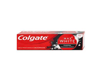 Pastă de dinți pentru albire cu cărbune activat Max White Charcoal 75 ml