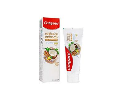 Fogkrém  Natural Extracts Coconut & Ginger 75 ml