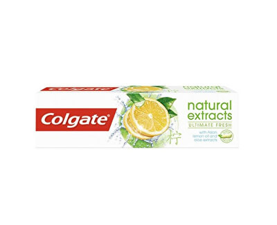 Zubná pasta s prírodnými extraktmi Natura l s Ultimate Fresh Lemon 75 ml