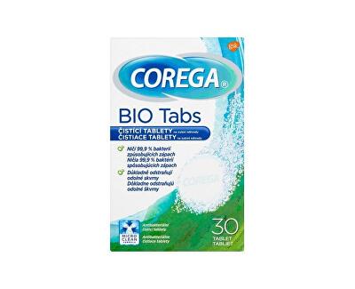 Čisticí tablety na zubní náhrady Bio Tabs 30 ks - SLEVA - poškozená krabička