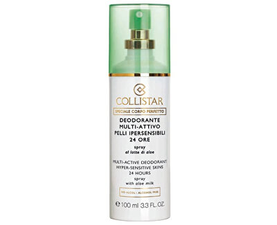Collistar 24hodinový deodorant ve spreji pro citlivou pleť (Multi-Active Deodorant Hyper-Sensitive Skins 24 Hours) 100 ml