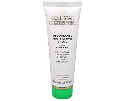 24hodinový krémový deodorant (Multi-Active Deodorant 24 Hours Cream) 75 ml