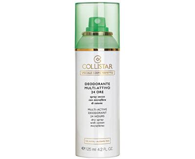 Collistar Deodorant ve spreji (Multi-Active Deodorant 24H Dry Spray) 125 ml