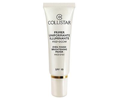 Podkladová báze pod make-up SPF 10 (Even Finish Brightenig Primer Face-Eyes) 30 ml