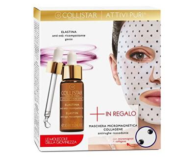 Sada vyživující a zpevňující pleťové kosmetiky Elastina Pure Actives