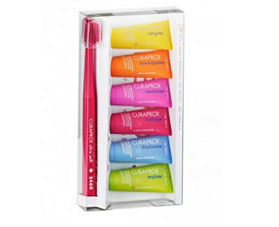 Sada péče o zuby Zubní kartáček 5460 Ultra Soft + mini bělicí pasty 6 x 10 ml