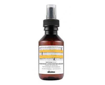 Ochranný a pečující bezoplachový sprej pro výživu vlasů Naturaltech (Nourishing Living Enzyme Infusion) 100 ml